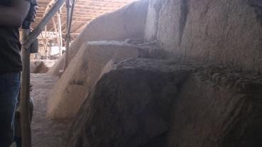 Contrafuertes del Templo